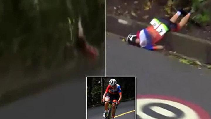 Голландская велосипедистка сломала позвоночник на Олимпиаде