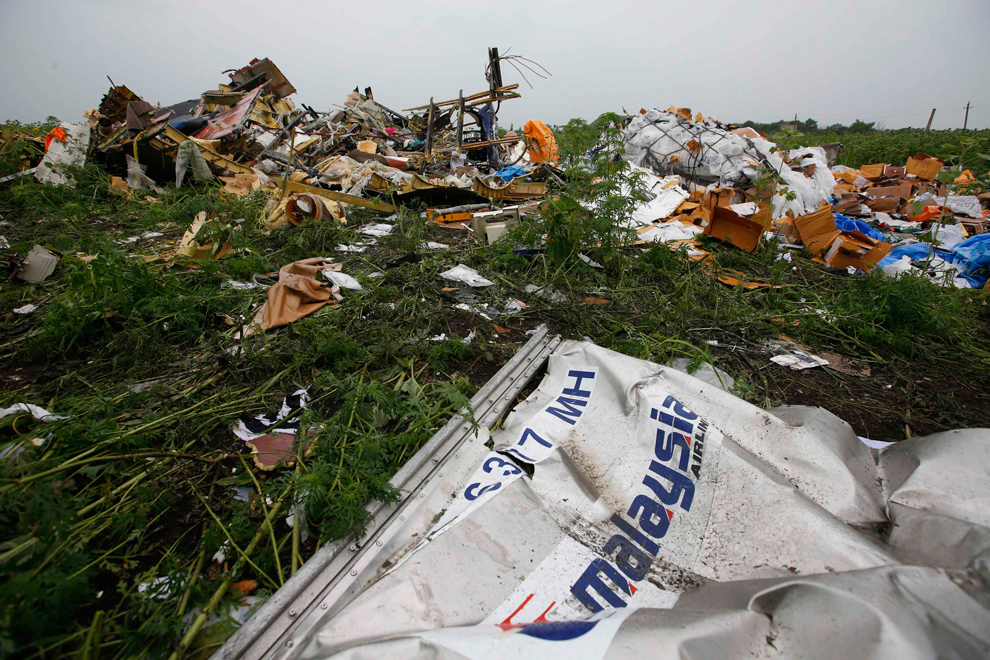 Реконструкция событий: крушение Boeing MH17 на востоке Украины