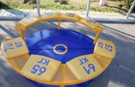 «Борцовские» скамейки установили в одном из парков Махачкалы