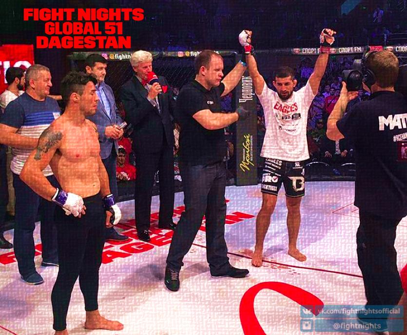 В Дагестане состоялся турнир FIGHT NIGHTS