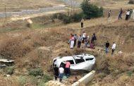 В пригороде Махачкалы произошло столкновение автомобилей из свадебного кортежа с грузовиком, есть жертвы
