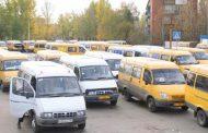 В Дербенте маршрутники, недовольные действиями Минтранса Дагестана, устроили акцию протеста