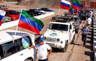 На родину Расула Гамзатова прибыл автопробег «Белые журавли»