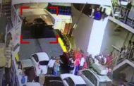 В Керчи автомобиль рухнул в воду при выезде с парома