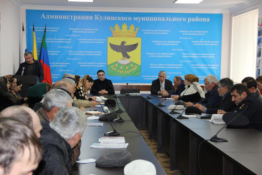 Выездной семинар-совещание Дагкомрелигии прошел в Кулинском районе