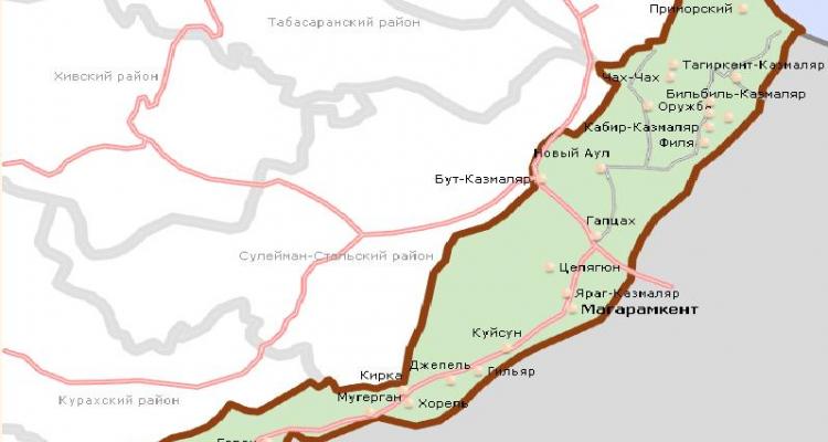 Пять сел Магарамкентского района Дагестана остались без газа из-за повреждения газопровода