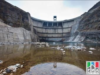 На Миатлинской ГЭС начали осушение водоподводящего тракта
