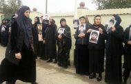 В Хасавюрте прошел митинг матерей похищенных дагестанцев