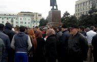 Участники акции протеста встретились с властями Махачкалы и наметили новый митинг на 15 ноября