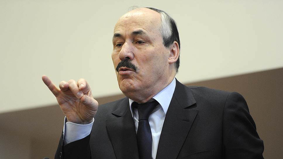 Глава Дагестана призвал избавляться от излишеств в ходе юбилеев и прочих праздников