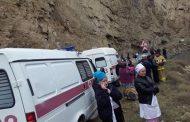 В Дагестане водитель выжил после падения в 50-метровый обрыв