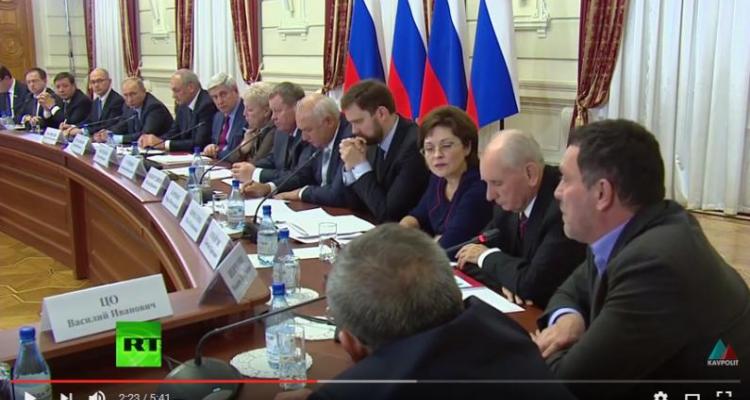 В Дагестане оБсуждали и оСуждали доклад Максима Шевченко Владимиру Путину