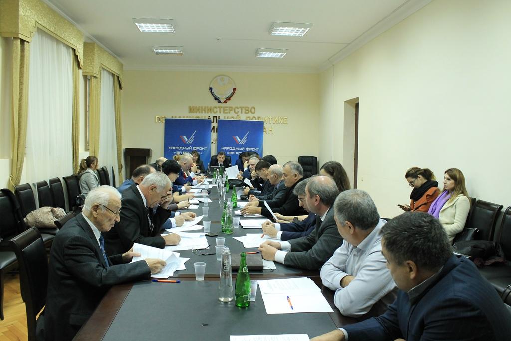 Активисты ОНФ в Дагестане подвели итоги деятельности за три год