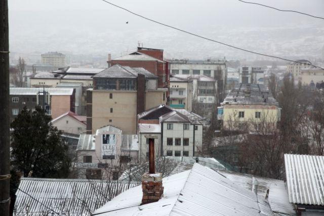 В столице Дагестана ожидаются резкое похолодание и снегопад