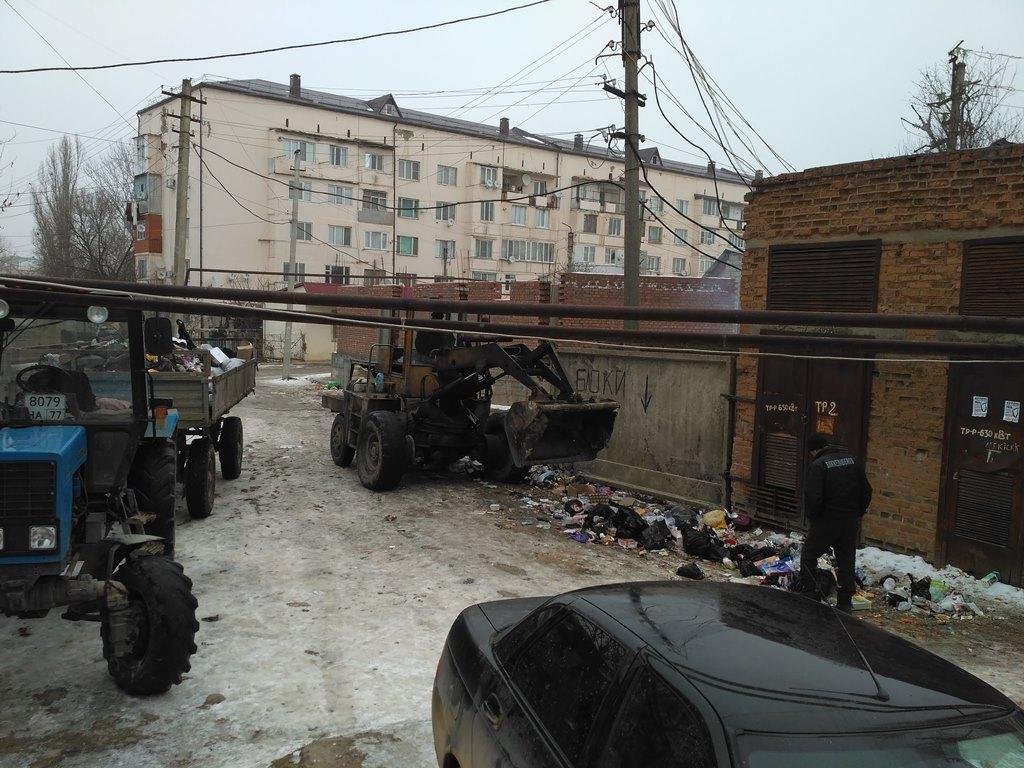 После обращения ОНФ власти Хасавюрта привели в соответствие с нормами площадку для сбора мусора на улице Батырмурзаева