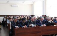 Депутат Госдумы Умахан Умаханов встретился со студентами и преподавателями ДагГАУ