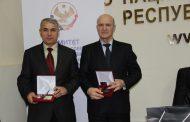 Сотрудники Дагкомрелигии награждены государственными наградами Республики Дагестан