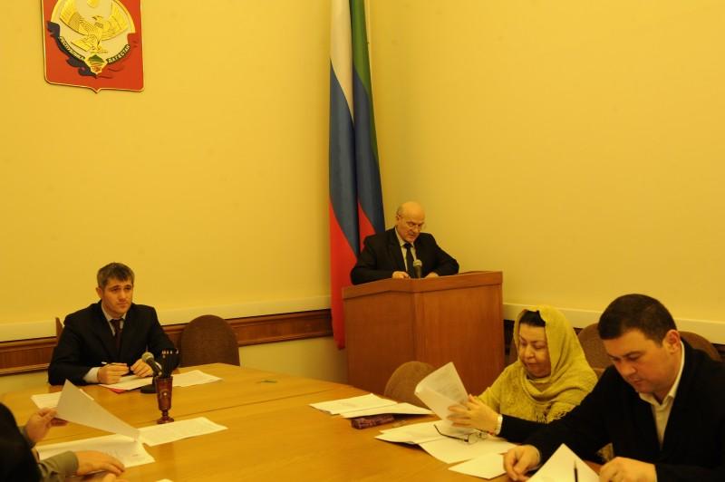 В Махачкале прошло заседание Совета по взаимодействию с религиозными объединениями при Главе РД