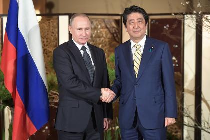 Путин рассказал о переговорах с Абэ в Нагато